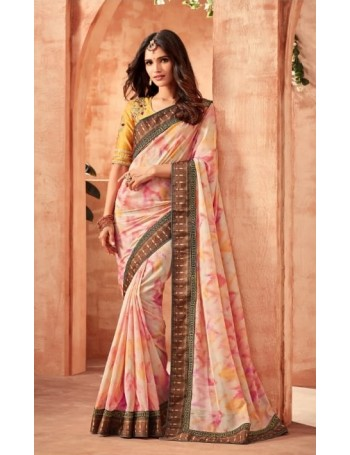 Designer Modern Printed Saree (Immediate Dispatch!)