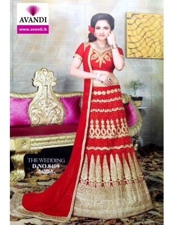 Designer Red and Gold Lehenga