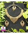 Modern Silver and Gold Full Jewellery Set